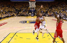 Stunning Warriors' fightback sinks Rockets and forces game seven