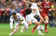 'It was like wrestling' – Klopp unhappy with Ramos challenge on Salah