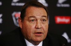 'We all know where our nipples are': All Blacks coach Hansen welcomes tackle trial