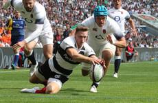 Ashton runs riot as Lam's Barbarians maul England at Twickenham