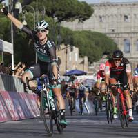 Ireland's Sam Bennett wins final stage of Giro d'Italia in thrilling sprint finish
