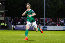 Watch: Cork City's Kieran Sadlier scores an outrageous goal from his own box