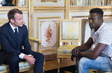 'Hero' Malian immigrant who saved child dangling from balcony is to get French citizenship