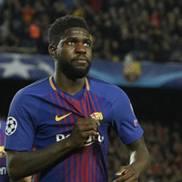 Man United target Umtiti claims Barcelona will have to 'throw him out the door'