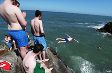 Warnings after swimmer injured at popular Dublin swimming spot