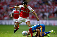 Towell 'would love' to extend loan from Brighton following Wembley success
