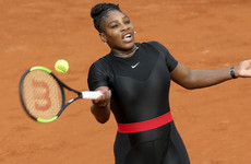 Serena Williams says French Open catsuit makes her feel like a 'warrior princess' and a 'superhero'