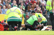 'I looked down and Aidan O'Shea pushed my head back and said, 'Tom don't look at it''