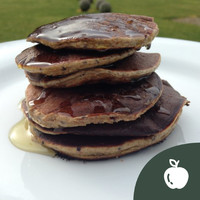 Treat yourself to these delicious and healthy banana pancakes