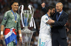 Zidane steps down as Real Madrid boss days after Champions League success