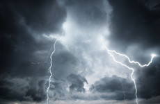 Weather warning issued: Expect heavy rain and intense thunderstorms tomorrow