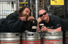 Jason Momoa is in Ireland, drinking Guinness and only delighted with himself