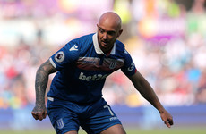 Stephen Ireland among seven players released by relegated Stoke