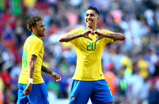 Neymar and Firmino shine as Brazil sink Croatia at Anfield ahead of World Cup
