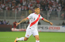 Peru captain grabs two goals just days after World Cup ban for drug use is overturned