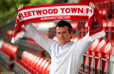 Barton says Fleetwood ideal for management debut as he replaces ex-Ireland international