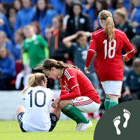'I remember thinking, 'Oh my God, that's it - I'm never going to play for Ireland''