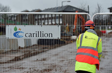 Two Irish firms are winding up after being dragged into a 'perfect storm' by Carillion's collapse