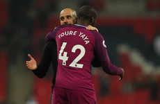 Toure will join a rival for £1 per week to prove Guardiola wrong, agent claims