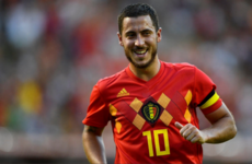 Hazard hones World Cup form as Belgium outclass Egypt