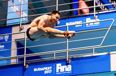 Ireland's Oliver Dingley impresses in high finish at Diving World Cup