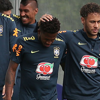 Worry for Brazil as Man United's new �60 million signing suffers ankle trauma