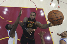 He could be nearing the end with the Cavs but LeBron is 'living in the moment'