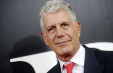 TV presenter and chef Anthony Bourdain dies aged 61