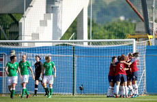 Ireland's World Cup qualification hopes dealt a blow with Norway defeat