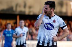 Superb Hoban hat-trick downs Limerick and sends Dundalk flying back top of the table