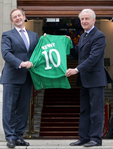 Caption time: When Trap met Enda