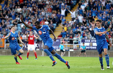 Akinade and Duffus hand Waterford all three points against 10-man Saints