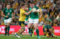 Outstanding Hooper 'stoked' as Wallabies wreak havoc at the breakdown