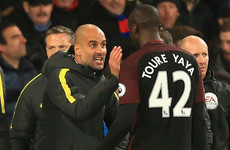 Guardiola refutes Toure claims: 'It's a lie and he knows it'