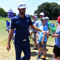 Dustin Johnson on top of the world after St Jude Classic victory