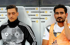 Merkel comes to Germany duo's defence as photo row overshadows World Cup preparation