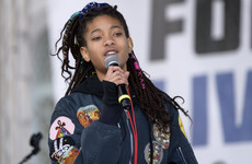 Willow Smith revealed that she learnt about sex by accidentally walking in on her parents