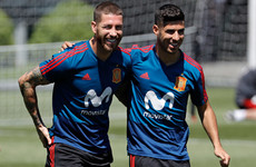 Ramos insists Spain are 'together' as former Real defender Hierro takes over