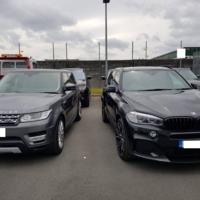Ten luxury cars seized in CAB swoop on dealership