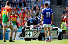 'One of the bravest things I've seen on a football field' - Laois captain on the mend from double skull fracture