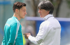 Loew pleads with Germany fans not to boo Ozil and Gundogan at World Cup