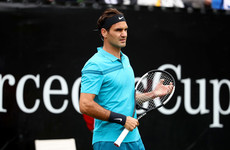 As if he was never away! Federer makes winning return after three-month break