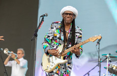 Nile Rodgers only plays Ireland if he gets two cups of tea and a ham sandwich, thank you very much