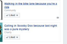 An investigation into some of the cringiest Facebook pages I liked as a teen