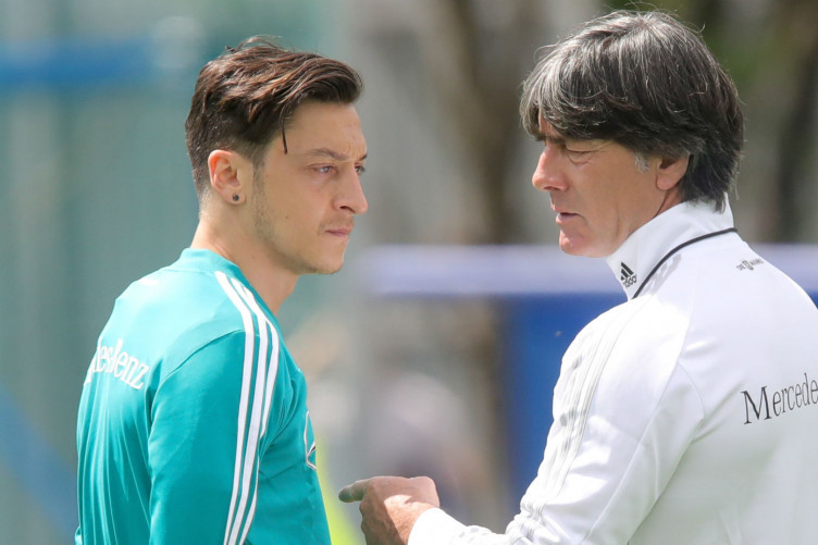 Germany star Mesut Ozil