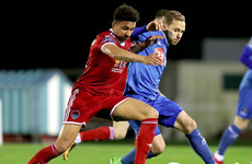 English defender leaves League of Ireland champions due to lack of game time