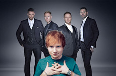 Ed Sheeran's written a song for Boyzone's last album