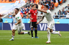 Uruguay break Egyptian hearts as 89th minute Gimenez header snatches dramatic late win