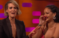 Sarah Paulson told Graham Norton about the moment she realised nobody at the Met Gala cared about her