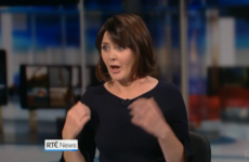 Keelin Shanley had an Aengus Mac Grianna moment when she was caught fixing herself on last night's news